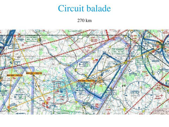 Circuit balade
