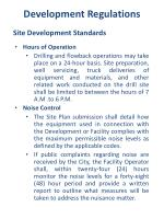 development regulations4