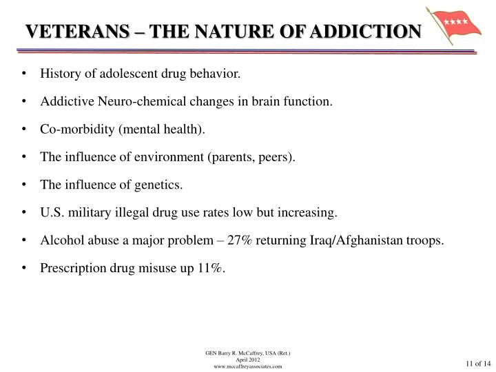 VETERANS – THE NATURE OF ADDICTION