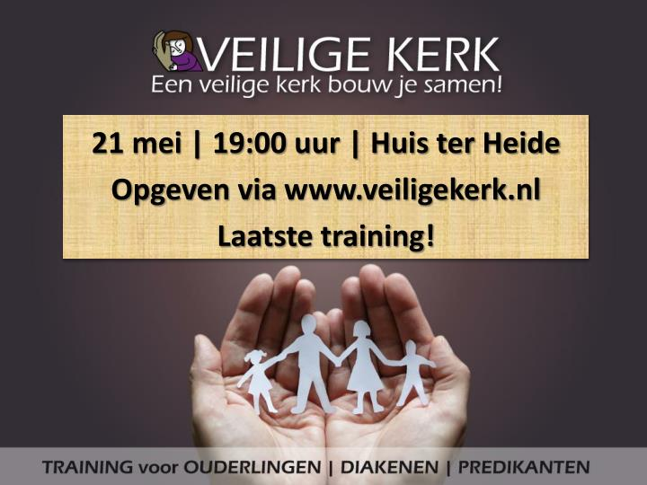 21 mei | 19:00 uur | Huis ter Heide