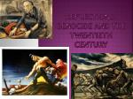 reflections genocide and the twentieth century