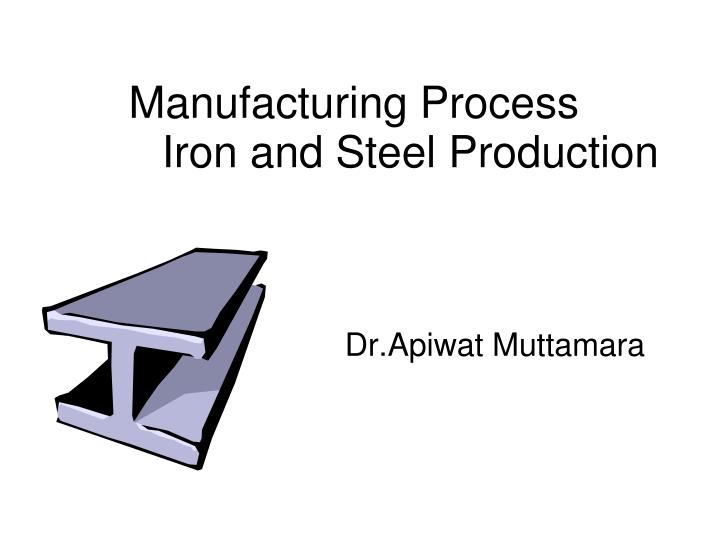 iron and steel production n.