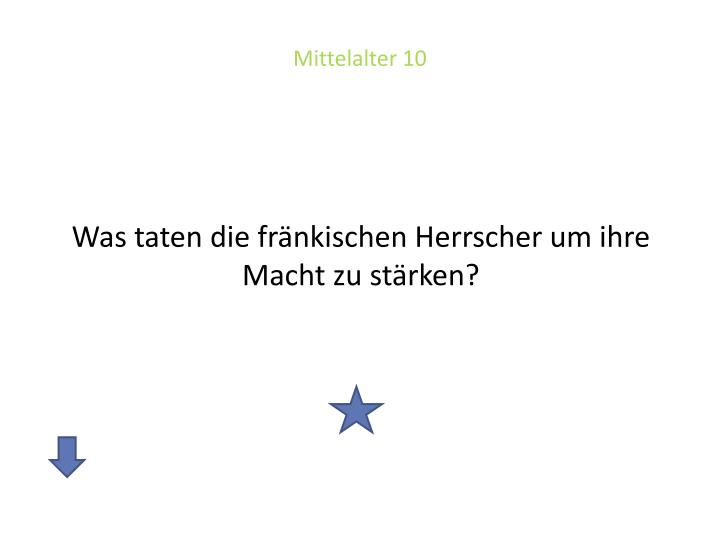 Mittelalter 10