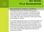 sky diving felix baumgartner1
