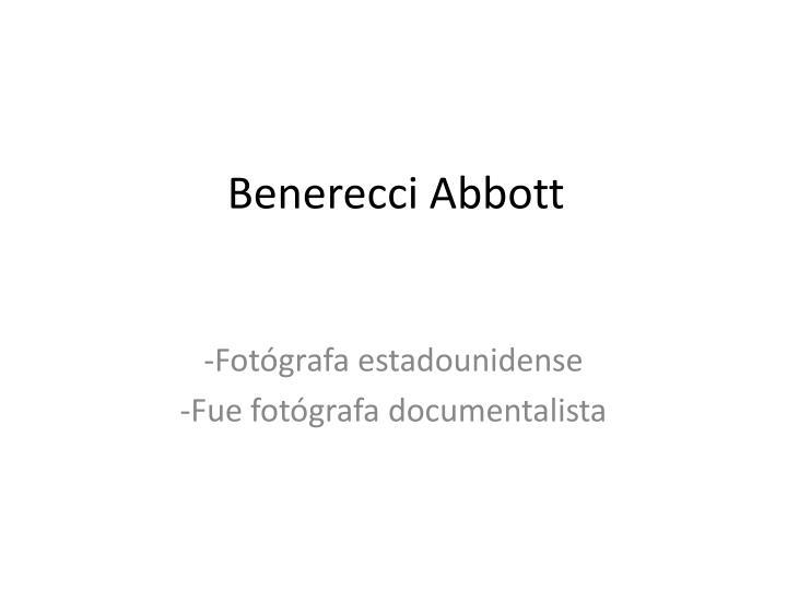 Benerecci