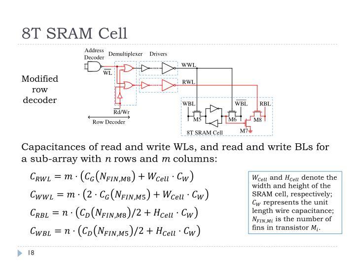 8T SRAM Cell