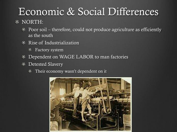 Economic social differences