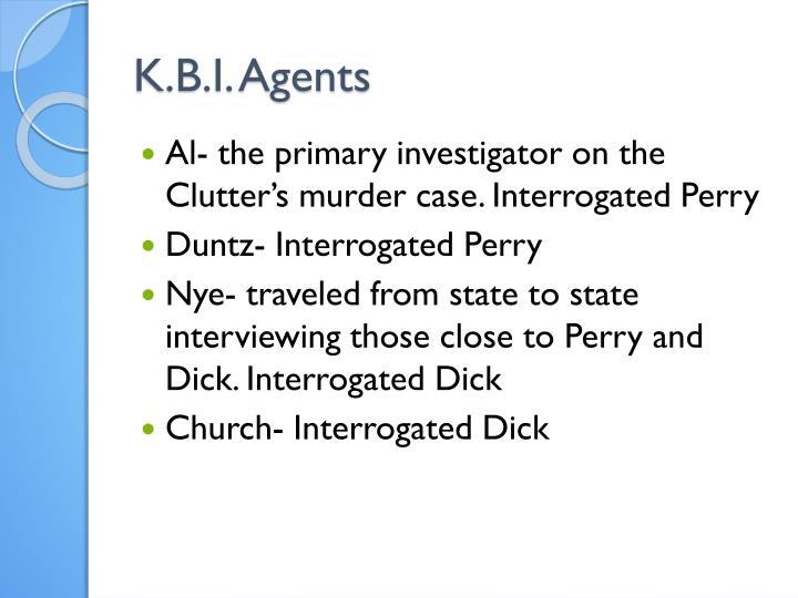 K.B.I. Agents