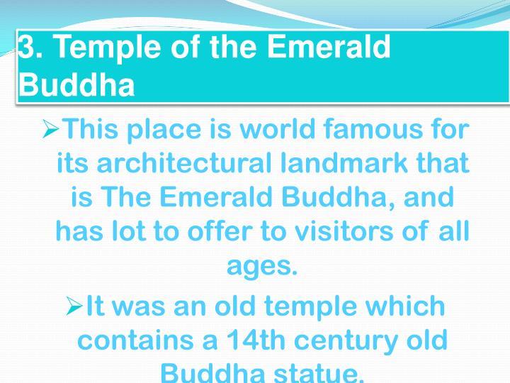 3. Temple of the Emerald Buddha