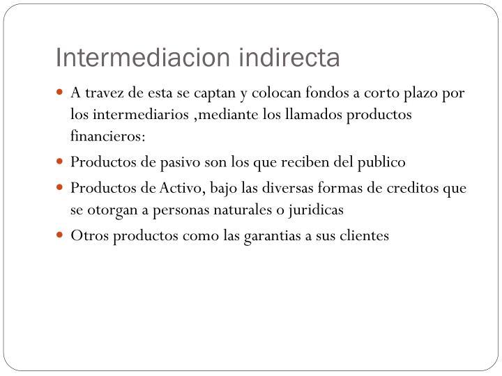 Intermediacion