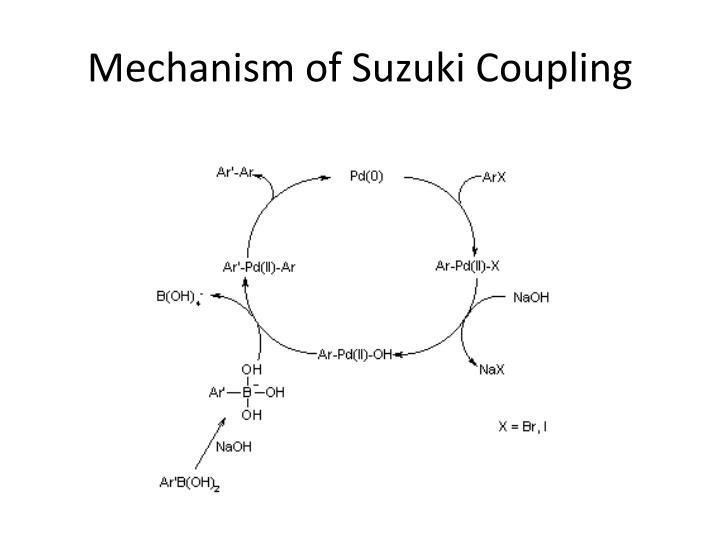 Mechanism of Suzuki Coupling