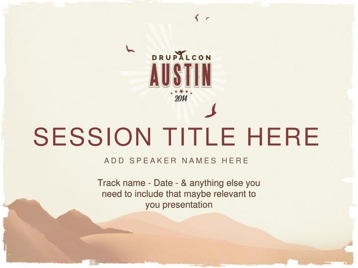 session title here n.