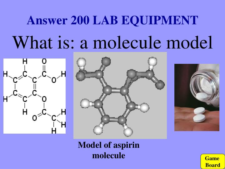 Answer 200 LAB EQUIPMENT
