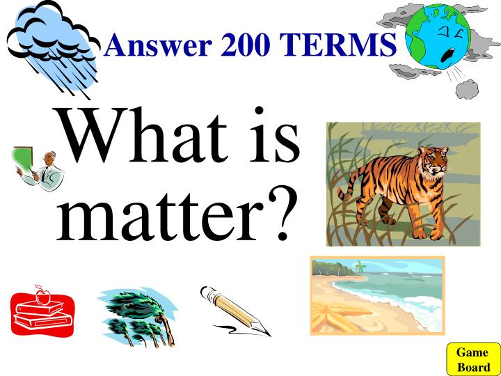 Answer 200 TERMS