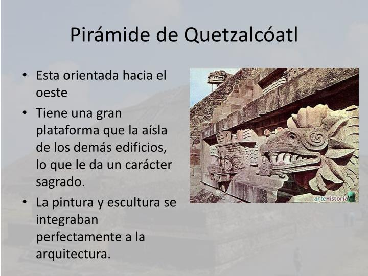 Pirámide de Quetzalcóatl