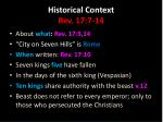 historical context rev 17 7 141