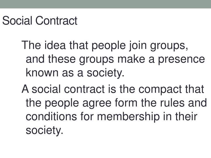 Social Contract