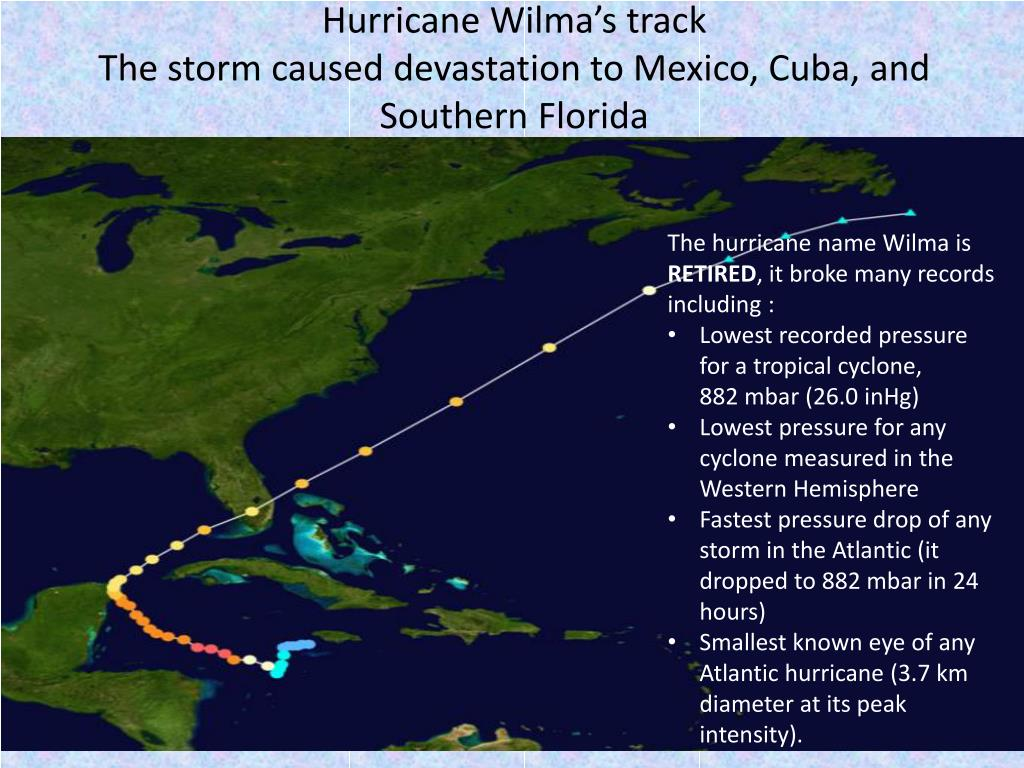 PPT - HURRICANE WILMA PowerPoint Presentation - ID:2328652