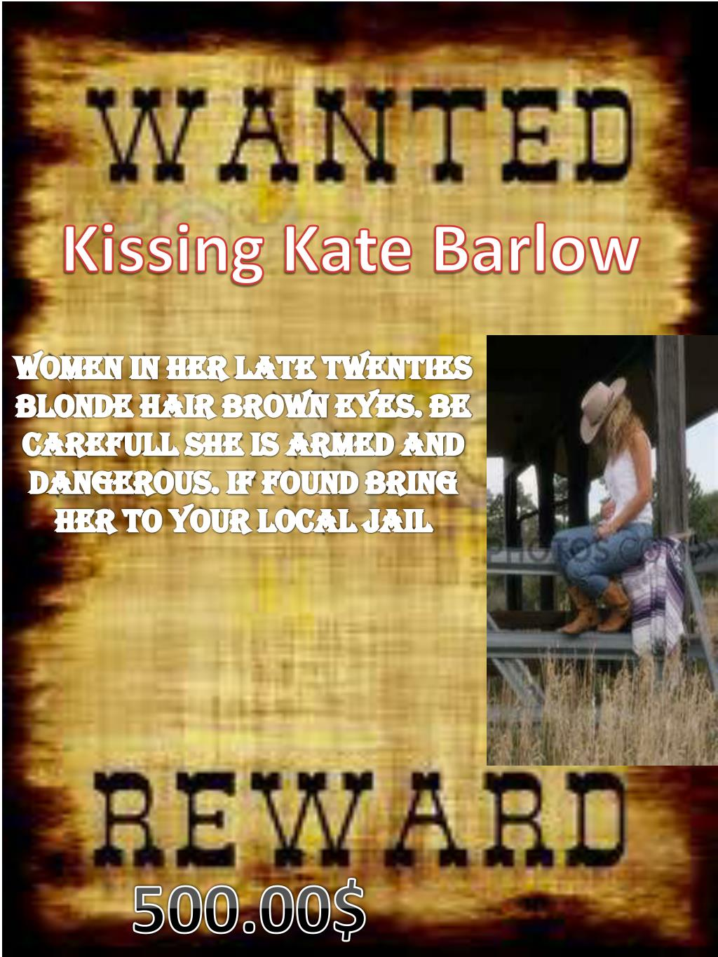 PPT - Kissing Kate Barlow PowerPoint Presentation - ID:2328701