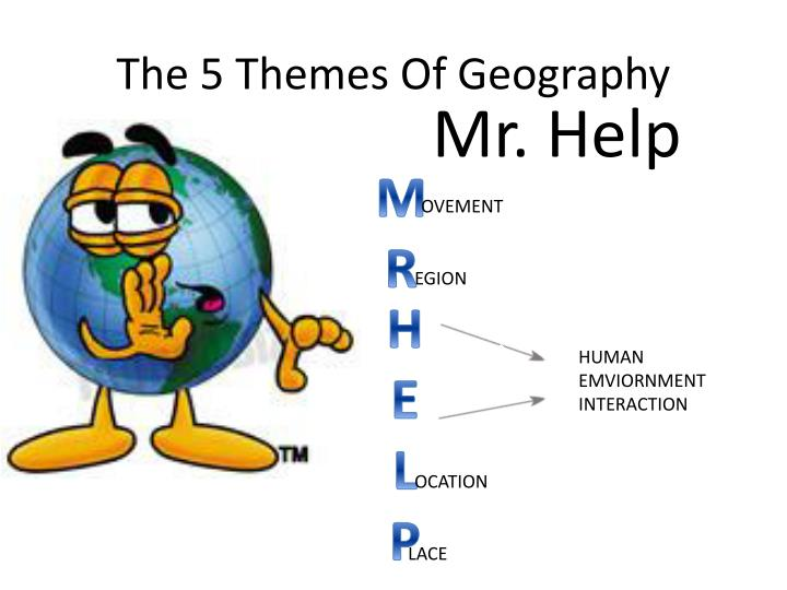 The 5 themes o f g eography