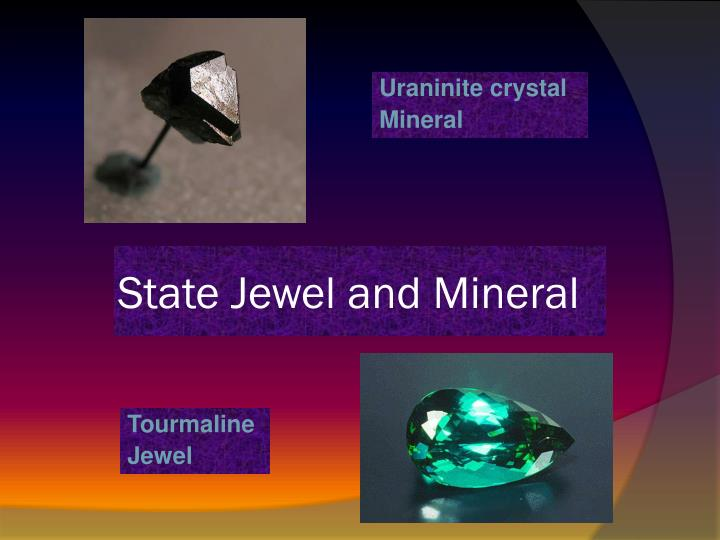 State Jewel and Mineral