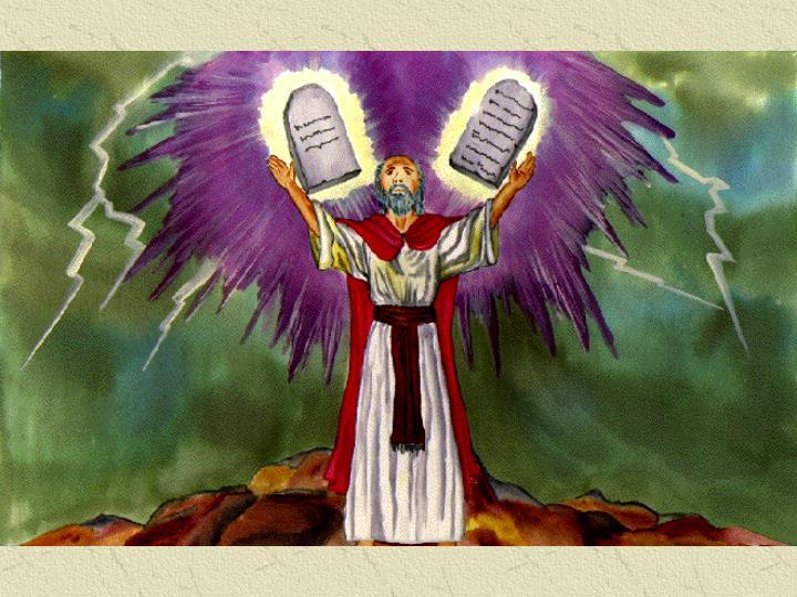 Moses 10 Commandments