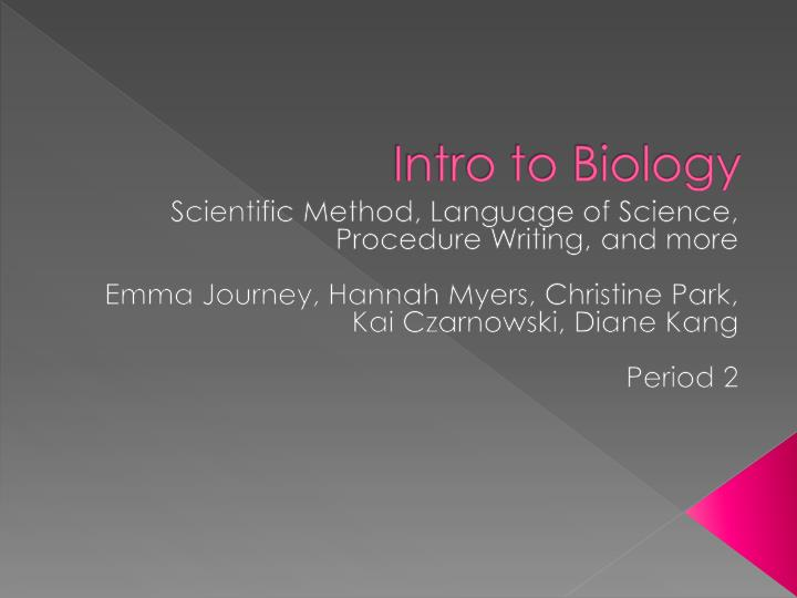 intro to bio Here is the best resource for homework help with biol 1010 : intro to biology at rensselaer polytechnic institute find biol1010 study guides, notes, and.
