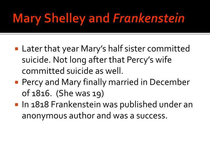 Mary Shelley and
