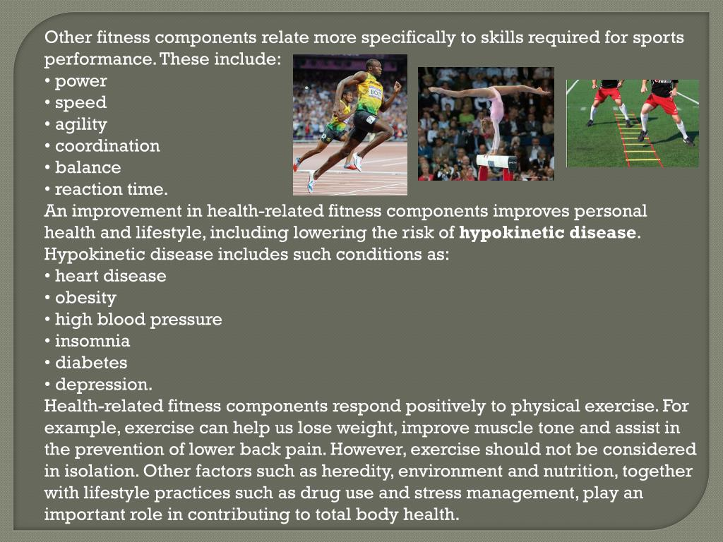 PPT - What is the relationship between physical fitness ...