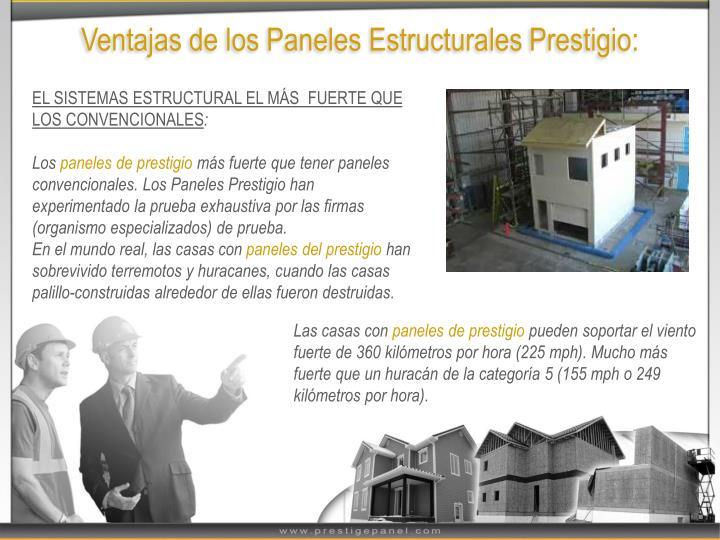 Ventajas de los Paneles Estructurales