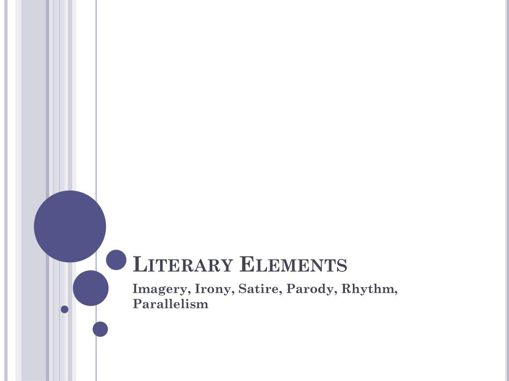 Ppt Literary Elements Powerpoint Presentation Free Download