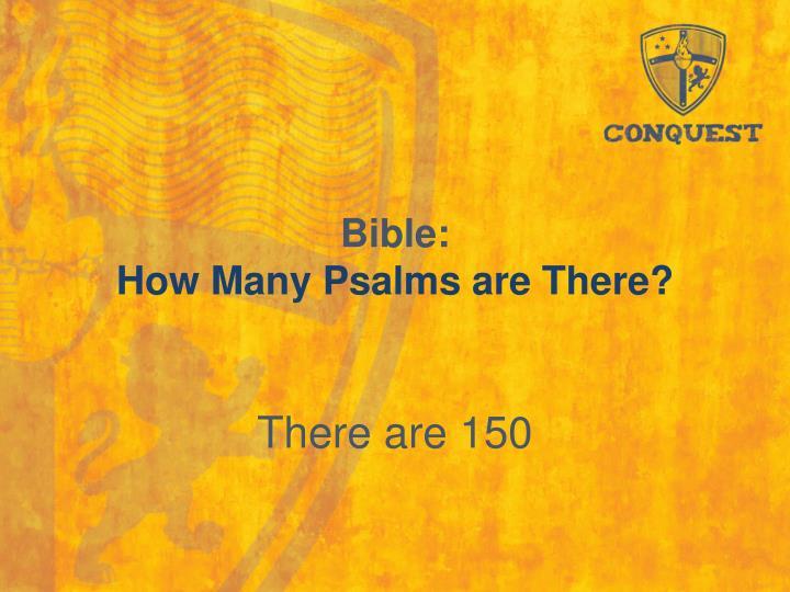 Bible: