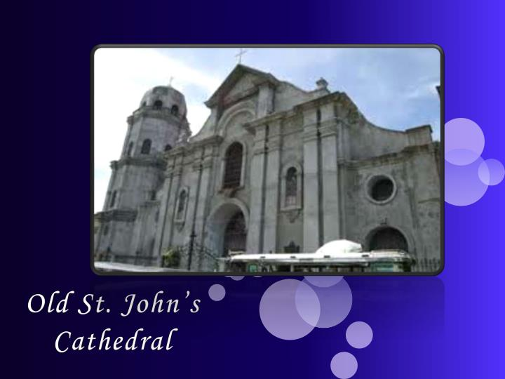 Old St. John's Cathedral