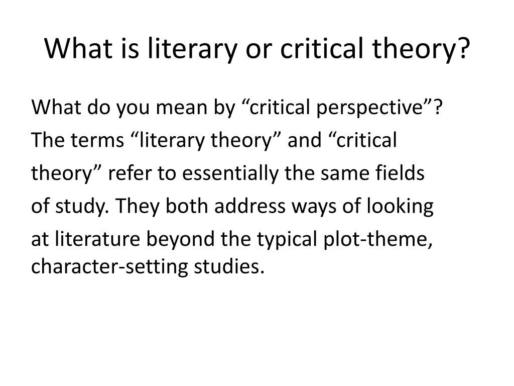 what does perspective mean in literature
