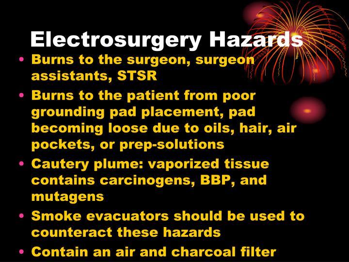 Electrosurgery Hazards