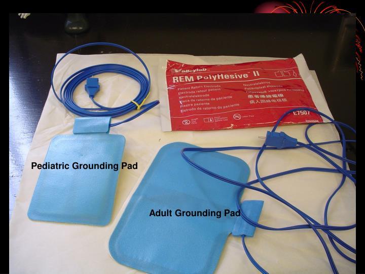 Pediatric Grounding Pad