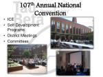 107 th annual national convention1