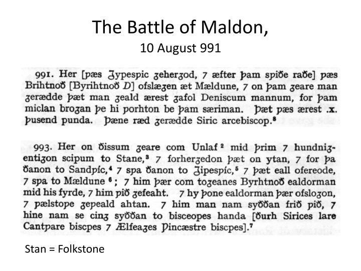 the concept of heroism in the poem the battle of maldon State of mind in the battle of maldon, the concept of overweening battle of maldon: a heroic poem in both anglo-saxon and medieval literature.