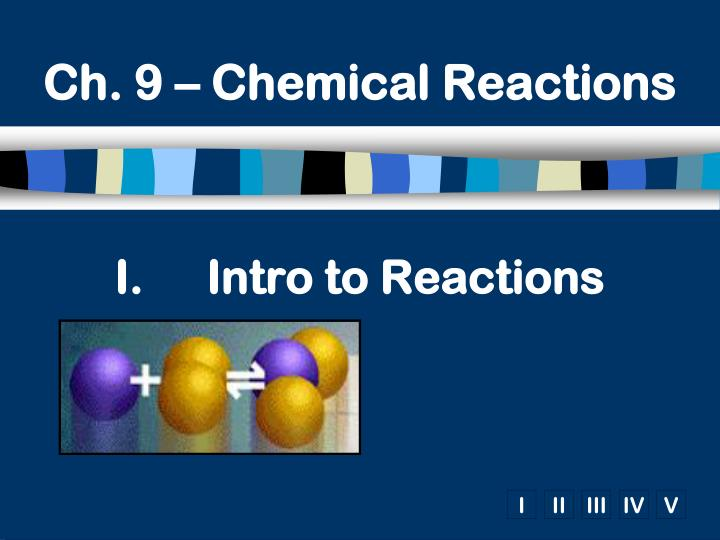 PPT Intro To Reactions PowerPoint Presentation ID 2330140