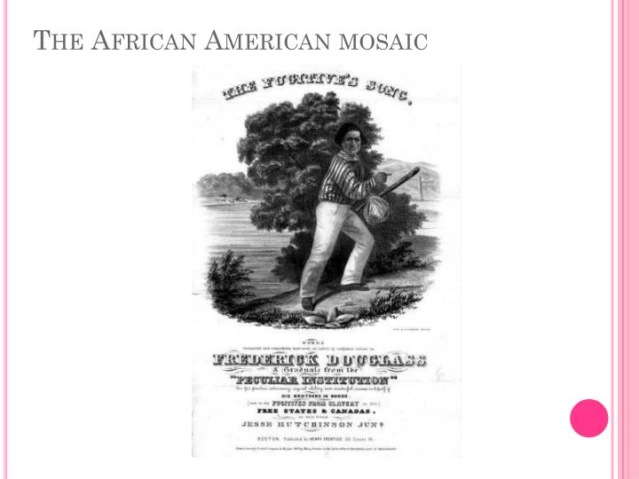 The African American mosaic