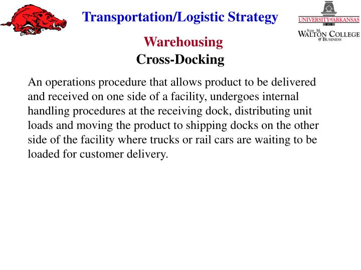 Cross-Docking