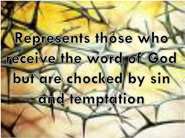 Represents those who