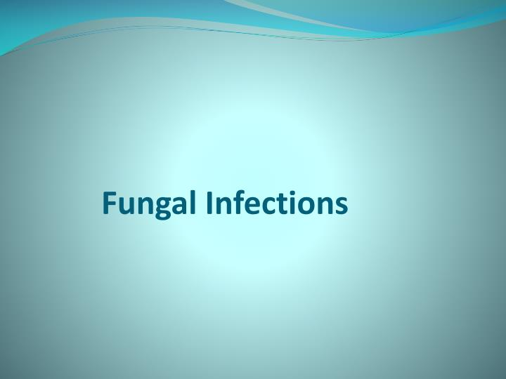 fungal infections n.