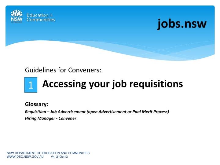 PPT - j obs nsw PowerPoint Presentation - ID:2330455
