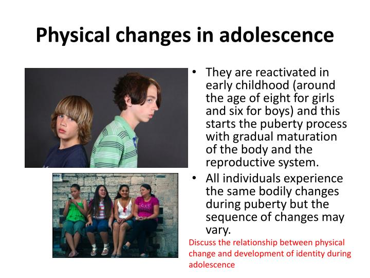 physical changes in adolescence stage