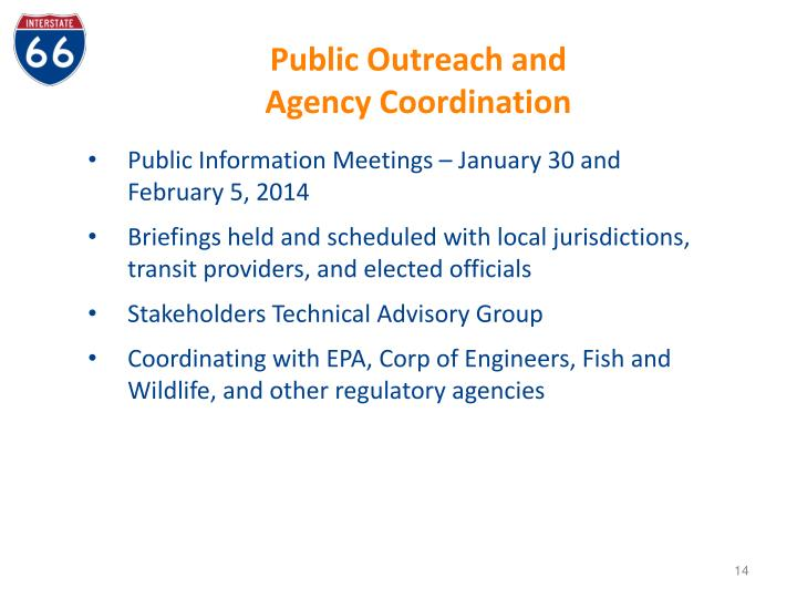 Public Outreach and
