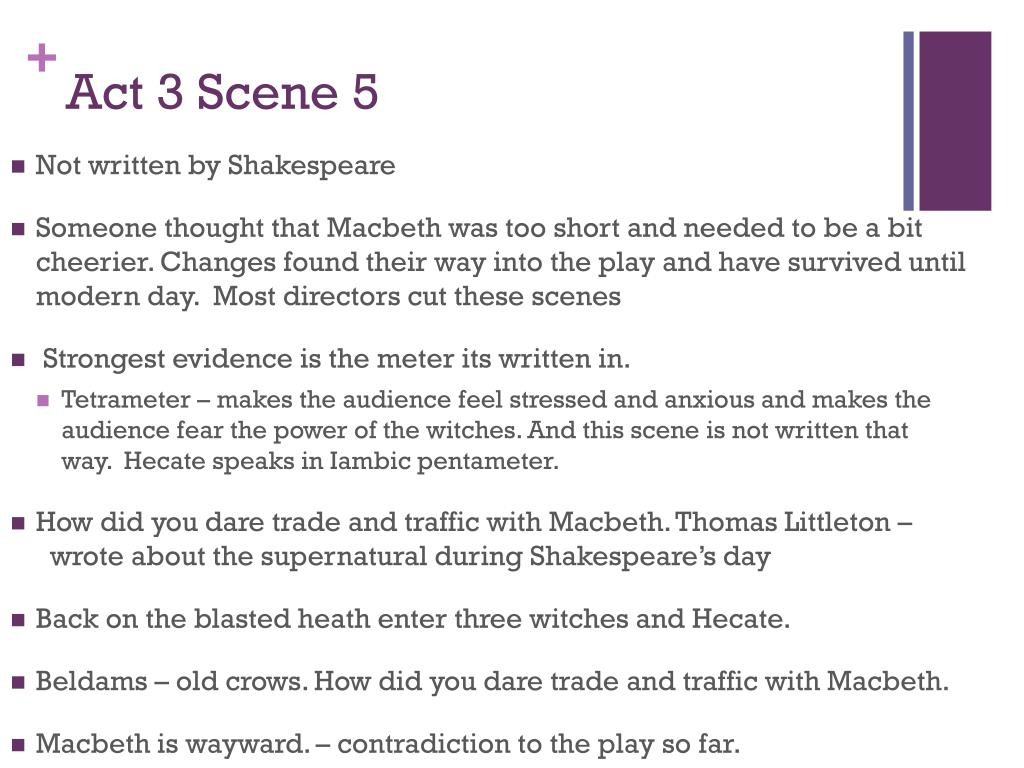 Ppt Macbeth Act 3 Powerpoint Presentation Free Download Id 2330940 Scene 6 Quote Analysis