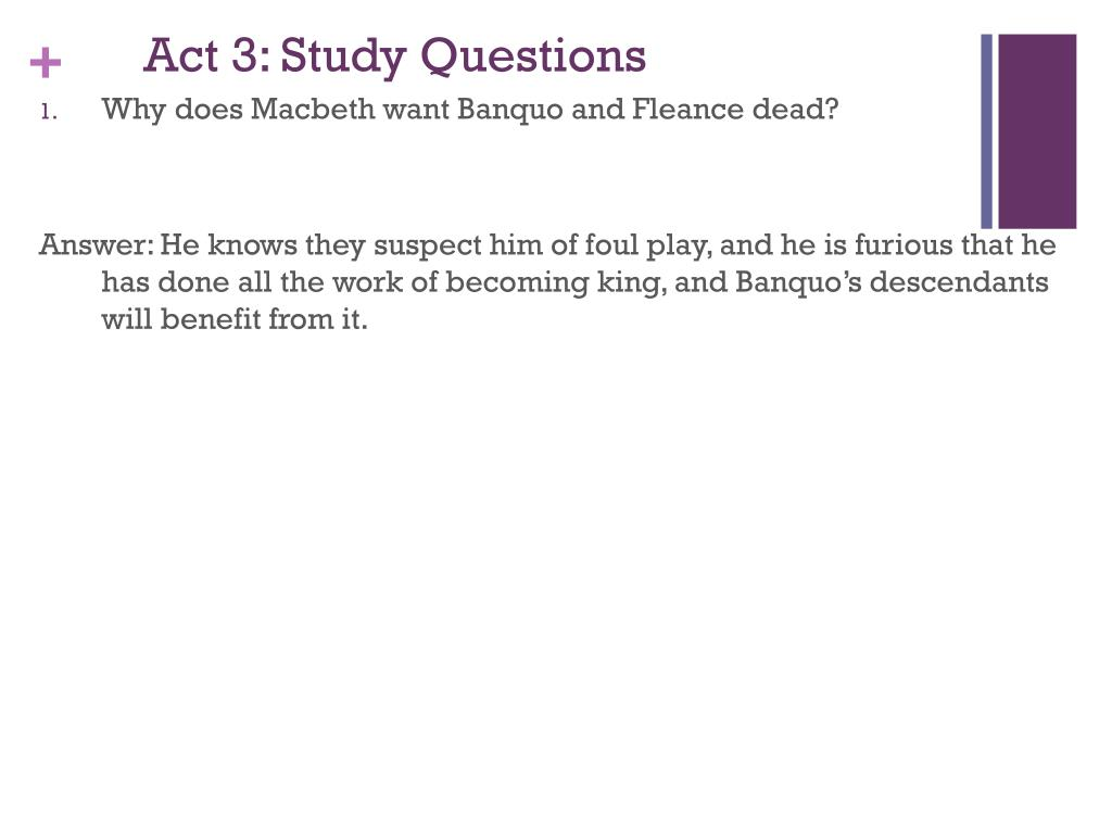 Ppt Macbeth Act 3 Powerpoint Presentation Free Download Id