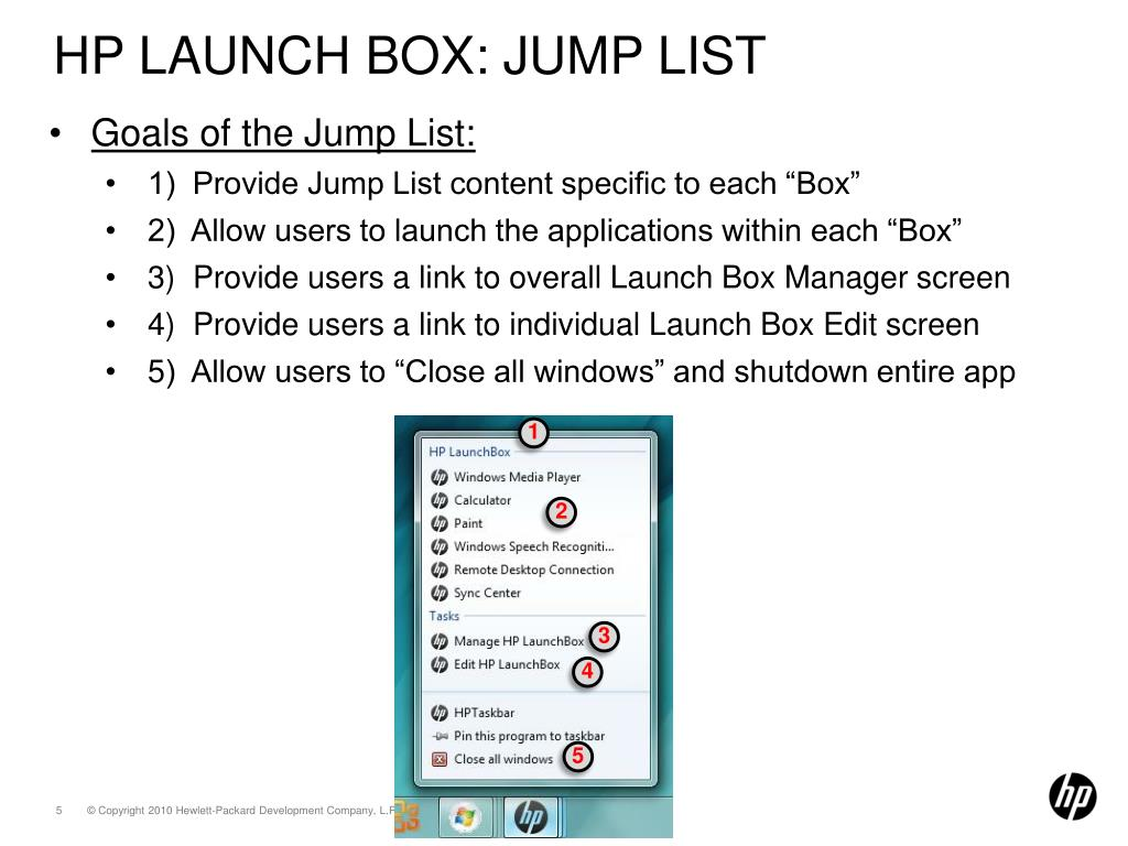 PPT - HP Launch Box PowerPoint Presentation - ID:2331152