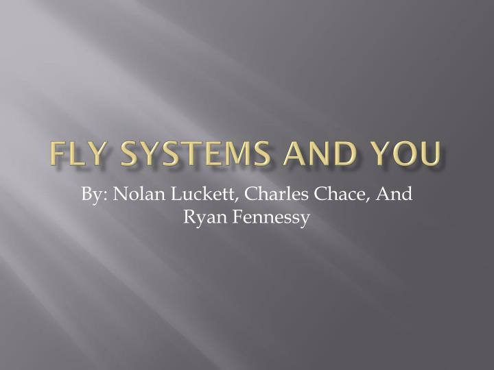 fly systems and you n.